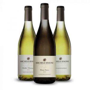 Confezione 3 bottiglie Pinot Nero, Müller Thurgau e Gewürztraminer – Simoni